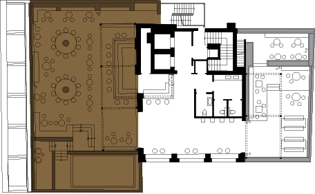 Floorplan Image: Cloud bar - Port view