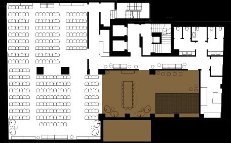 Floorplan Image: Dining Room + Playroom adjoined